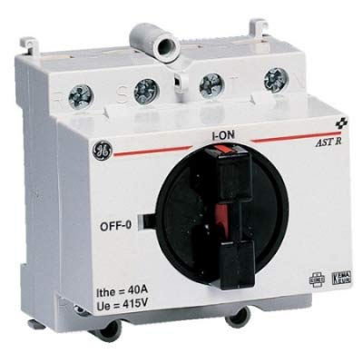 Gepc astr4040 - Interruptor rotativo aster 40a 4 contacto abierto