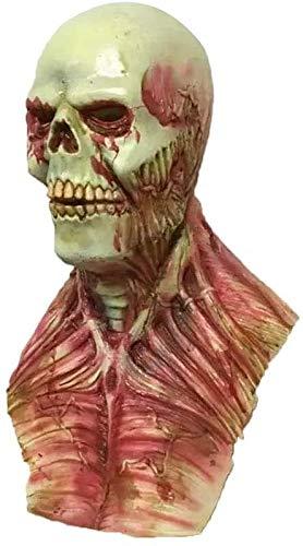 2021 decoración de Halloween máscara de zombie partido cr