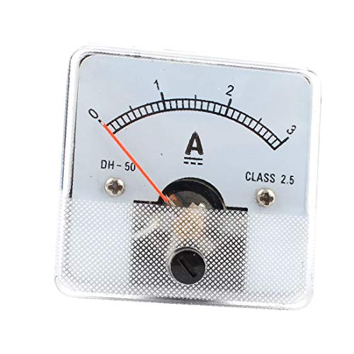 X-DREE DC 0-3A Analoges Hochleistung Amperemeter Messgerät-Anzeigen DH-50(714-b7-b8-963)