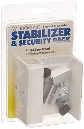 A/C Safe AC-702 Window Air Conditioner Security and Stability Pack, Neutral