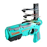 Asmoda 2021 New Hot Toy - Catapult Plane,One-Click Ejection Model Foam Airplane with 4 Pcs Glider Airplane Launcherfor Outdoor.Outdoor Sport Game Toy Gifts for Kids.(Blue…