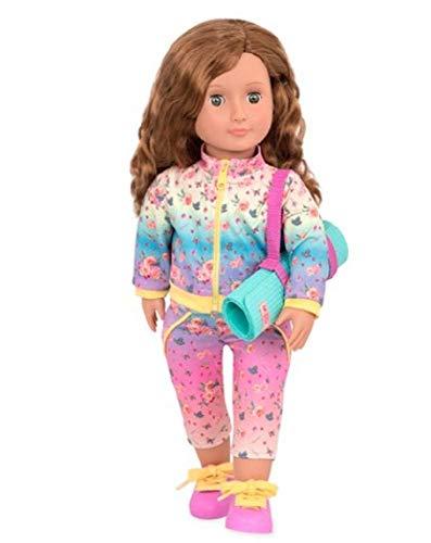 Our Generation - Puppe Lucy Grace Yogalehrerin mit Sportmatte, Bunt, BD31184Z