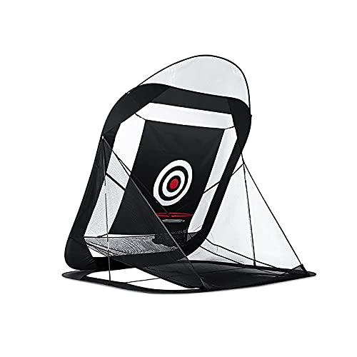 AWJ Práctica de Golf Equipo de ayudas para el Entrenamiento Accesorios de Golf Red de práctica de Golf Golf Indoor r Chipping Pitching Cages Portable 215 * 215 * 215cm