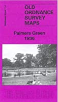Palmers Green 1936: Middlesex Sheet 7.14b (Old Ordnance Survey Maps of Middlesex)