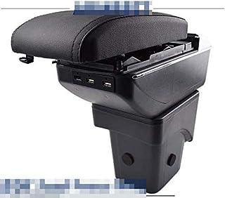 Apoyabrazos para Focus 2 MK2 2005-2011 Caja de almacenamiento de doble capa con 3 puertos USB