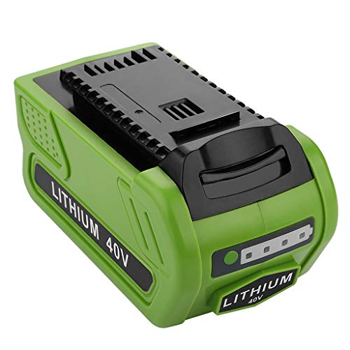 Momola GRE40V Batterie Au Lithium Rechargeable pour Tondeuse à Gazon,Remplacement pour GreenWorks 29472 29462 G-MAX,Convient à La Batterie GMAX Tools Série 20