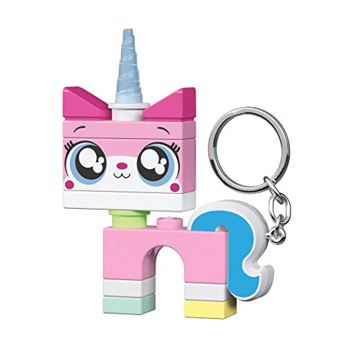 Lego LGL-KE144 Unikitty Key Light sleutelhanger met zaklamp, roze