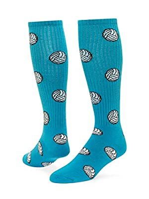 Red Lion Volleyball Knee High Sock (Turquoise - Small)