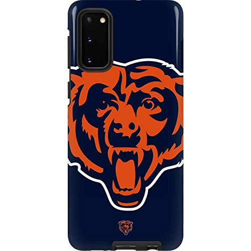 Skinit Pro Phone Case for Galaxy S20 - Officially Licensed NFL Chicago Bears Large Logo Design