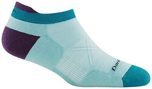 Darn Tough Darn Tough Vertex No Show Tab Ultra-Light Cushion Sock - Women's Glacier Medium