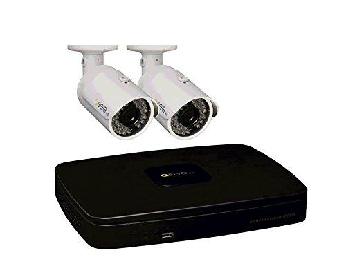 Q-See qc824–2C9–14Canales nvr de 1080p con 2Cámaras de 1080p y preinstalado 1TB HDD