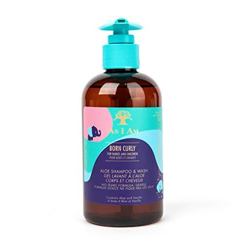 Born Curly Shampoo and Wash