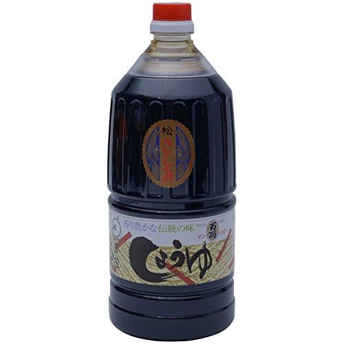 万両味噌醤油 JAS上級 さしみ醤油 1500ml