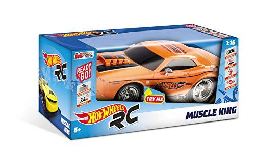 Hot Wheels-63507 Coche, Color Negro (Mondo SPA 63507)