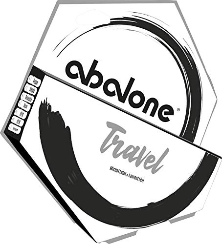 Asmodee Abalone Travel (redesigned), Familienspiel, Strategiespiel, Deutsch