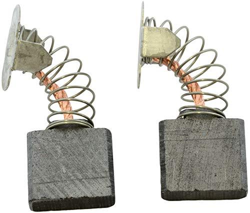Escobillas de carbón Buildalot Specialty ca-07-94359 para Makita Amoladora GA9020R - 7x18x16 mm - Con resorte, cable y conector - Reemplaza partes 191953-5, 191957-7, CB-203 & CB-204