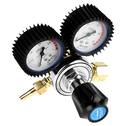 Regulador de gas de CO2, regulador de CO2 G5 / 8, reductor de presión de soldadura para corte de soldadura de gas