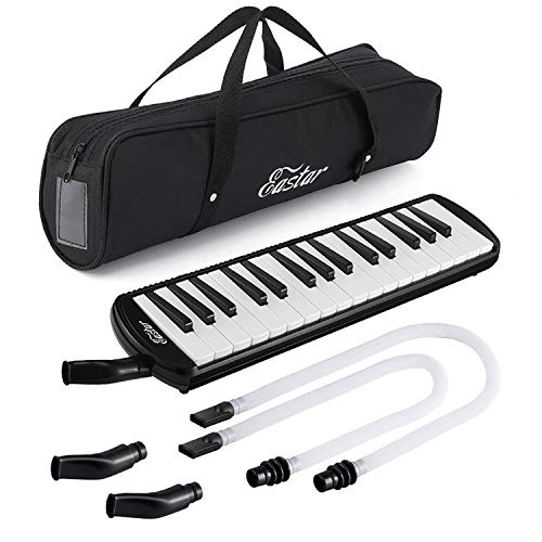 Eastar 32 Key Melodica Instrument Keyboard Soprano With Mouthpiece ,Carrying Bag