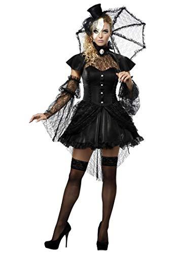 Déguisement Adulte Costume Halloween Femme Poupée Victorienne Small