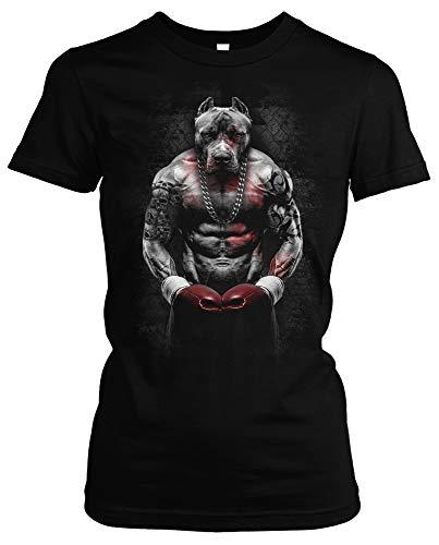 Boxing Bully Damen Girlie T-Shirt |...