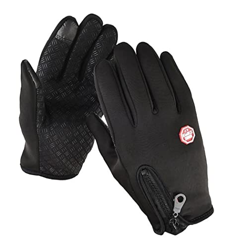 Froiny 1 Pc Unisex Touchscreen Winter Thermal Warm Cycling Bicycle Bike Ski Outdoor Camping Hiking Motorcycle Gloves