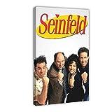 Seinfeld 8 Poster auf Leinwand, Wandkunst, Dekor, Bild,