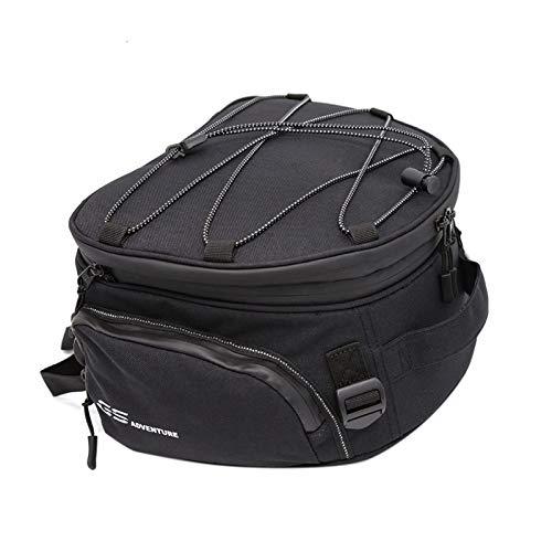 para R1200GS R1250GS Motocicleta Bolsas de Equipaje para GS 1200 LC 2013-2017 R1250GS Top Pack Motorcycle Trasero Caja de Herramientas de la Herramienta (Color : Rear Seat Bag)