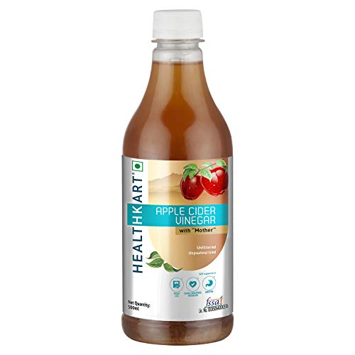 Apple Cider Vinegar With Mother Unflavored 500 Ml (16.90 Oz )