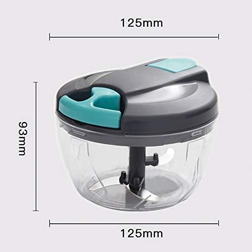 Kitchenaid keukenmachine | voedselmolen - Gember Knoflookmolen Handmatige Voedselhakker - Mini Handtrekker Keukenmachine Knoflookpers Vleesmolen Groentemolen Voor Vleesnoten Peper BPA Vrij/Duurzaam