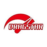 Speed DRAGSTAR ドラッグスター ステッカー レッド 赤