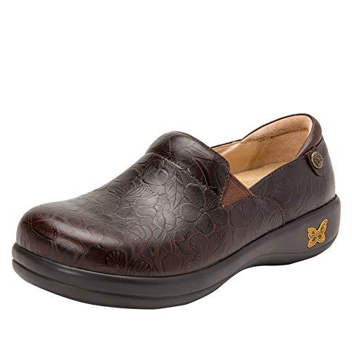 Alegria Keli Womens Professional Shoe Flutter Choco 8 M US