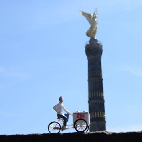 Fotokunst auf Holz - Eis mit Goldelse in Berlin