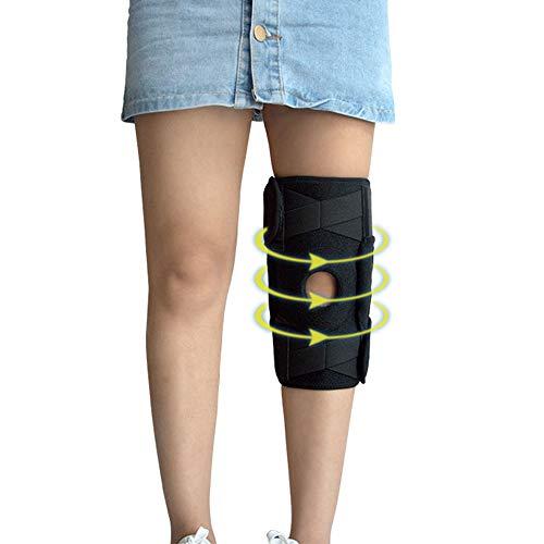 Vlook Knieorthese-Stützschutz, Einstellbarer Patellastabilisator, Feuchtigkeitstransport und atmungsaktiv, zur Linderung von Gelenkschmerzen bei Basketball-Arthritis