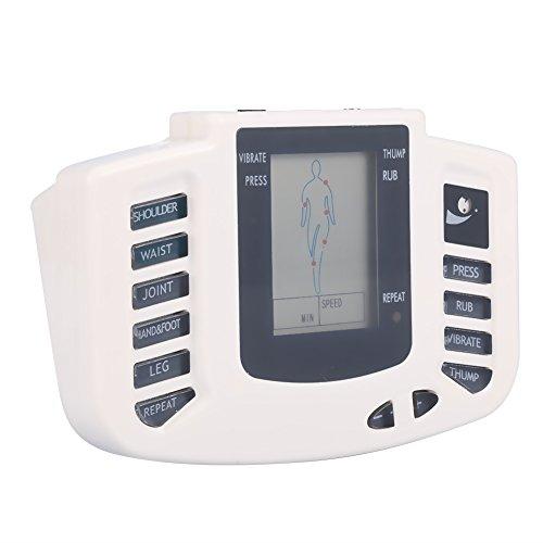 TENS dispositivo di terapia dell'agopuntura, massaggio elettrico a impulsi, multifunzione, stimolatore digitale massaggio, cura della salute, strumenti con 4 funzioni per vita, spalle, gambe, piede