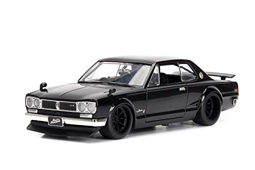 Jada Toys Fast & Furious 1:24 Brians's Nissan Skyline 2000 GT-R Die-cast Car, Toys for Kids and Adults (JA99686)