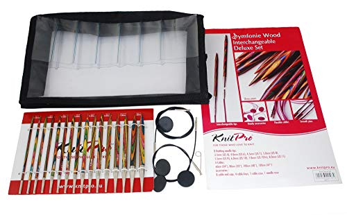 Set per Ferri intercambiabili Cubics KnitPro Rosewood