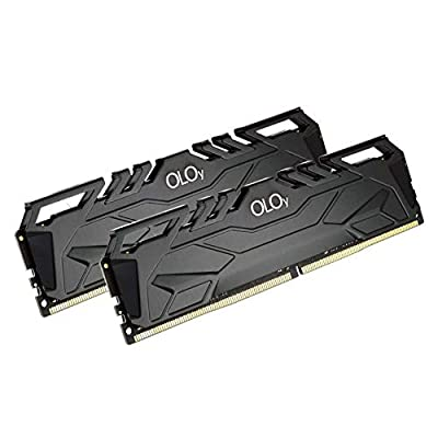 OLOy DDR4 RAM 32GB (2x16GB) 3200 MHz CL16 1.35V 288-Pin Desktop Gaming UDIMM (MD4U163216DJDA)