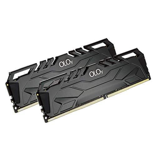 OLOy - Memoria RAM DDR4, 16 GB (2 x 8 GB, 3000 MHz, CL16, 1,