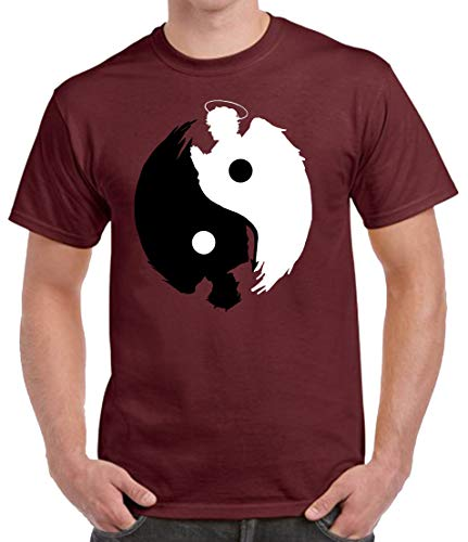 The Fan Tee Camiseta de Hombre Varias Series Good Omens Buenos Presagios...
