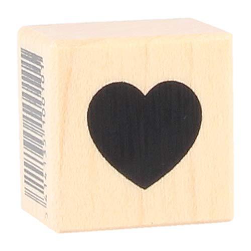 Artemio Typ A Heart Full Holz Stempel
