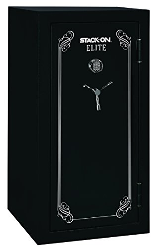 Stack-On E-40-MB-E-S Elite 36-40 Gun Safe with Electronic Lock, Matte Black