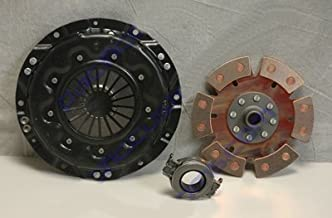 Kennedy 200Mm Clutch Kit Kennedy Stage 2 Pressure Plate, 6 Puck Disc, And Early Throw Out Bearing