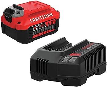CRAFTSMAN V20 Craftsman 4.0-Ah Battery with Charger