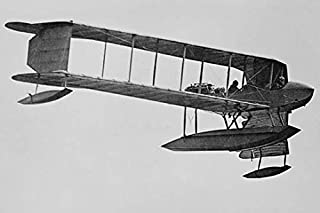 Burgess Sea Biplane of the Naval Militia on its way to Naval Air Station in Pensacola Florida Poster Print by unknown (18 ...
