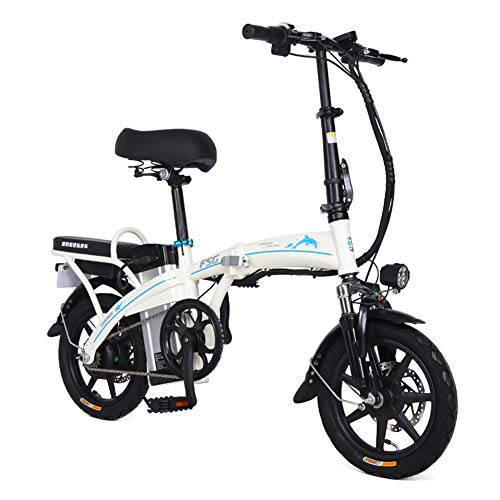Amazing Deal Electric Bikes for Adults Folding Speed Up to 30Km/H,Removable Lithium Ladies
