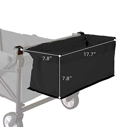 WHITSUNDAY Collapsible Folding Garden Outdoor Park Utility Wagon Picnic Camping Cart with...