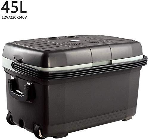 Auto-koeler, compressor vrieskast, koelbox, campingkoelkast, 12 V, 220-240 V, elektrische koel- en warme koelbox, lange afstand, voor op de camping
