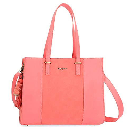 Bolso Pepe Jeans Bitmat Coral