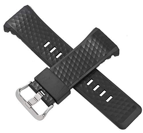 Cinturino per orologio Casio WSD-F20BK WSD F20BK F20 Nero