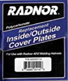 Radnor 90mm X 110mm Polycarbonate Cover Plate For Cobra 40VI Welding Helmets